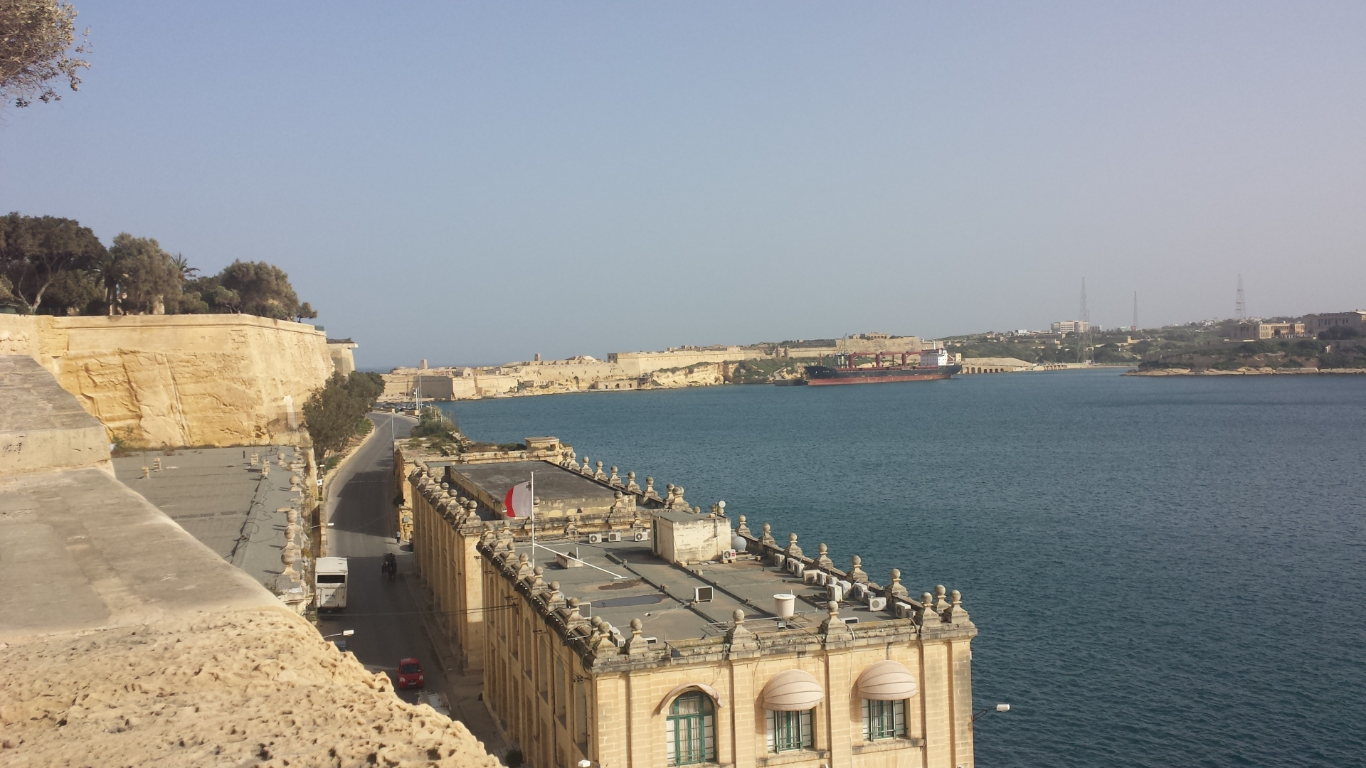 View from Valletta, Malta