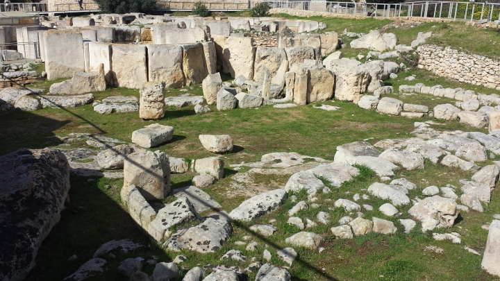 Ancient temple site.