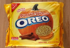 Pumpkin-spiced Oreos