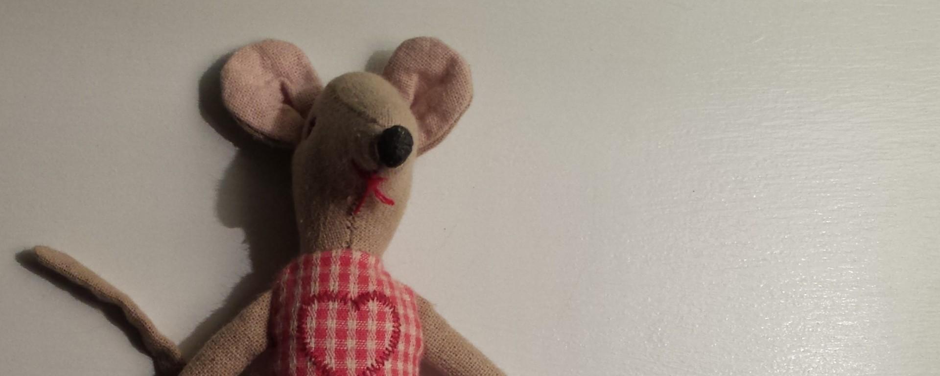 Stuffed animal mouse.