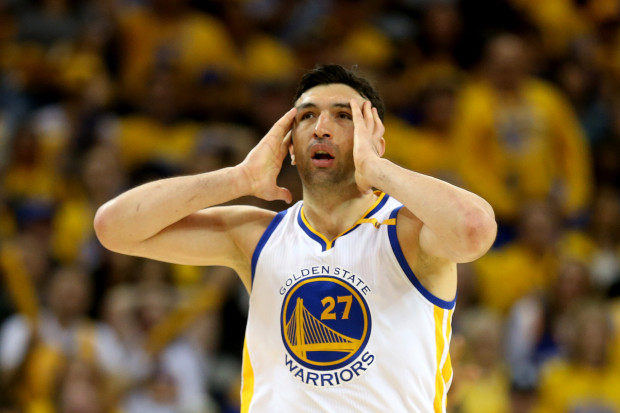 Zaza Pachulia in disbelief